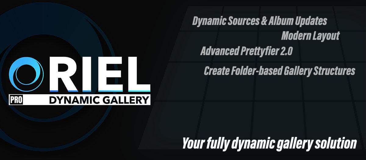 Oriel Pro - Dynamic Joomla! Gallery Module