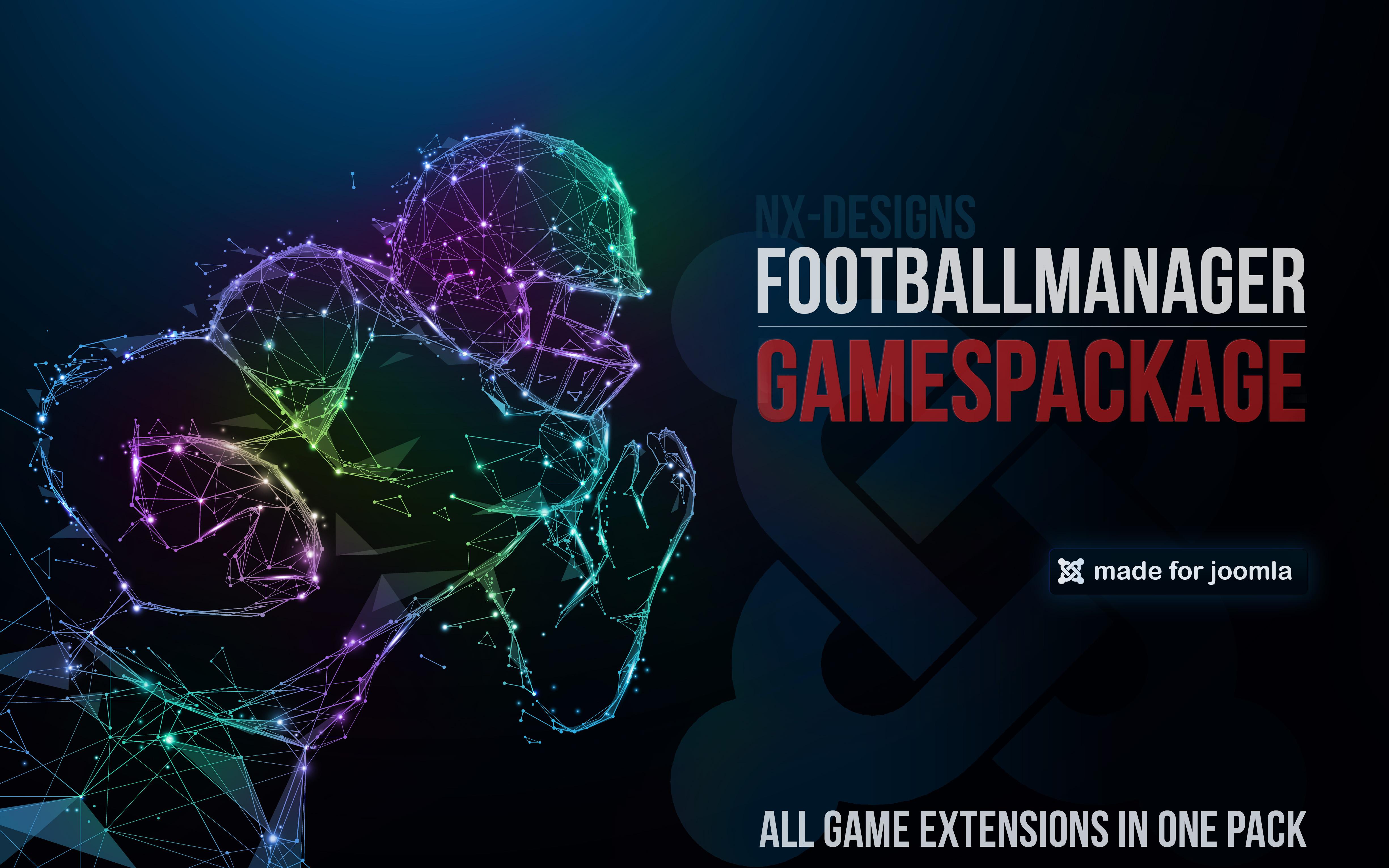 FootballManager GamesPackage