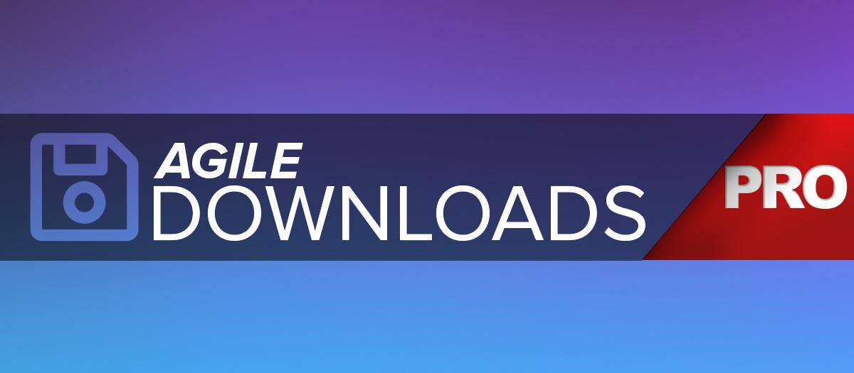 agile Downloads Pro Subscription